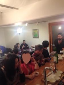 2015年2月20日夜あまてるカフェ和魂交流会