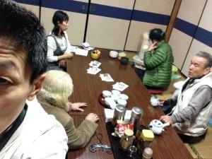 2015年3月14日禊カフェ狭野神社社務所でお茶会