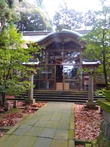 2015年12月13日狭野神社・禊カフェ開催場所