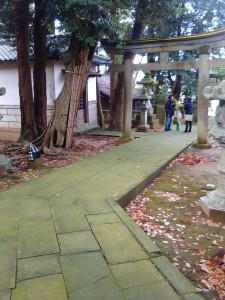 2015年12月13日狭野神社参道