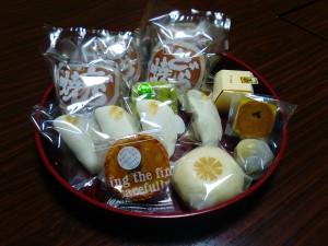2015年12月13日狭野神社禊カフェでの中村屋和菓子